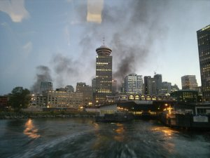 Vancouver up in smoke 1