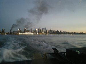 Vancouver up in smoke