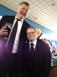 Iain McDonald and Ryan Waite