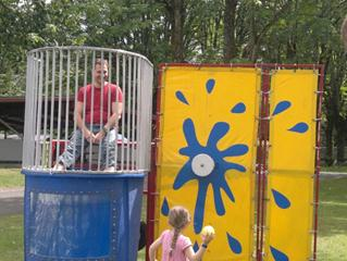 Kyril in the dunk tank 2011