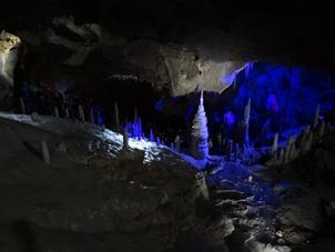 200,000 year old stalagmite formation
