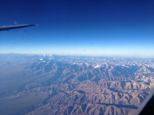A view of the Andes