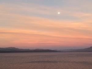 Sunset on the Rio Negro