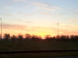 Sunrise in Dallas