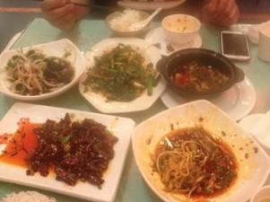 Sichuan meal