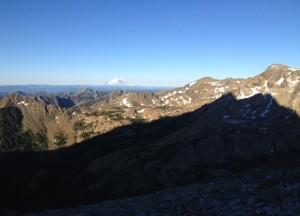 Mt. Stuart shadow