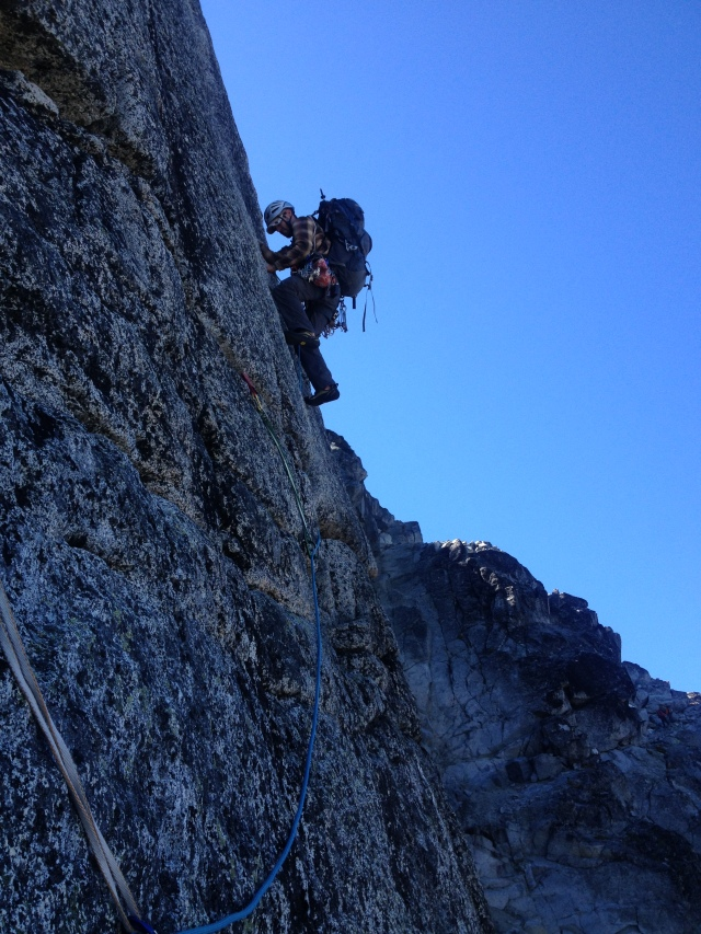 Jack on the Gendarme offwidth