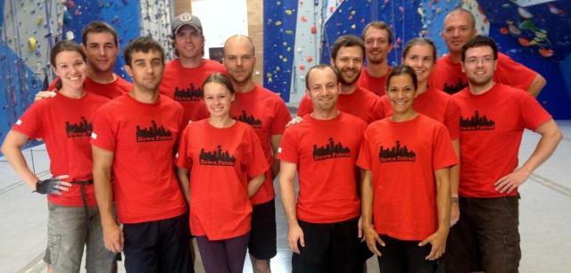 Dawn Patrol, missing Jacob, Pawel, Marcin, Gavin, and Clare