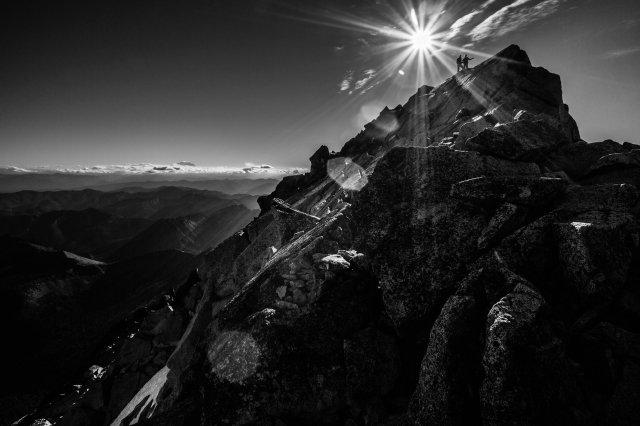 Mt Stuart summit, photo by Luke Humphrey