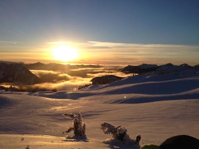 Mt Rainier Dec 24, 2013