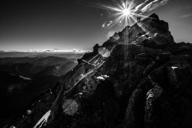 Mt. Stuart summit