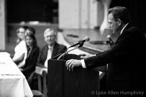 Superintendent speaking
