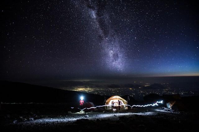 Kili Night Sky