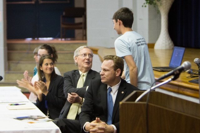 Senator McConnel visit
