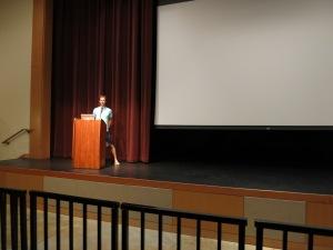 Ryan Leech presenting