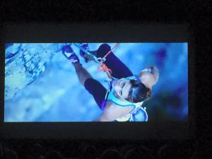 Big Screen showing of Work Hard, Climb Harder