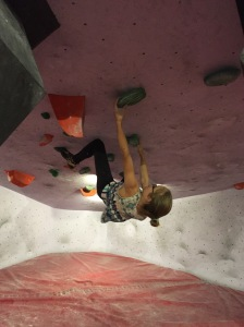 Aurora climbing