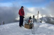summit pose, photo by Luke Allen Humphrey