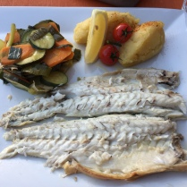 Fish in Cassis, France