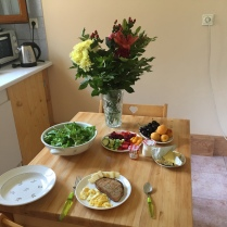 Lunch in Ceuse, France